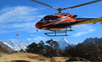 Helicopter To Syangboche