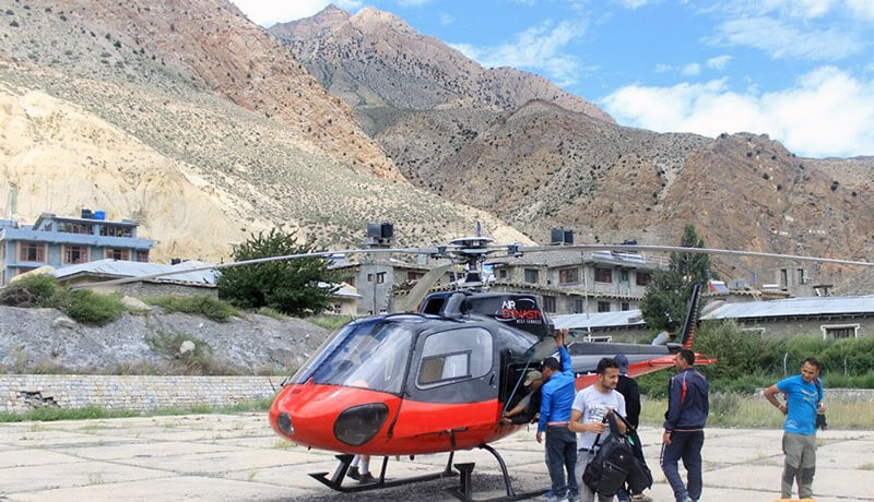 Kathmandu to Muktinath Helicopter