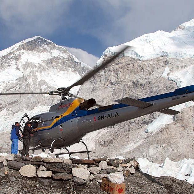 everest base camp helicopter tour with landing