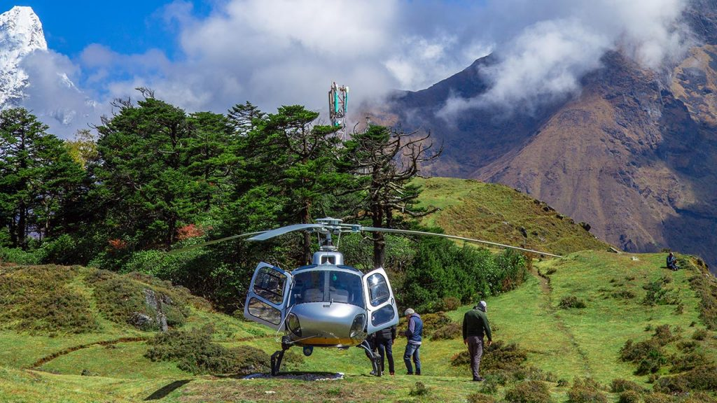 Everest View Hotel Helicopter Tour