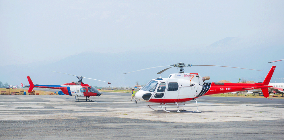 halesi helicopter tour