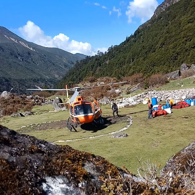 Kanchenjunga Helicopter Tour